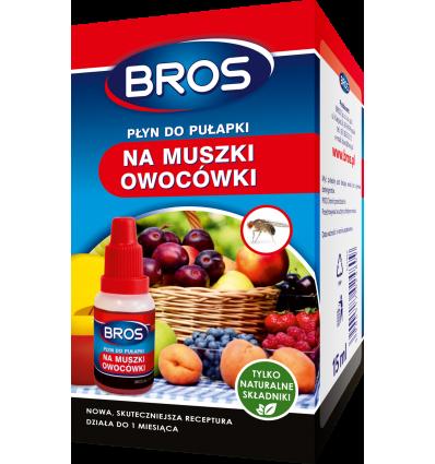 Płyn do pułapki na muszki owocówki 30 ml BROS