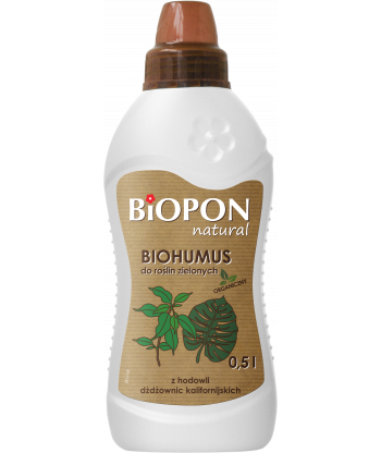 Biohumus do roślin zielonych 1L BIOPON