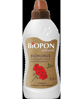Biohumus do pelargonii i roślin balkonowych 1L BIOPON