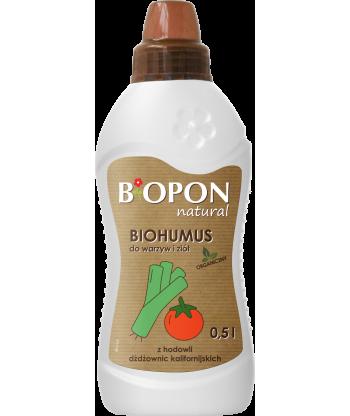 Biohumus do warzyw i ziół 0,5L BIOPON