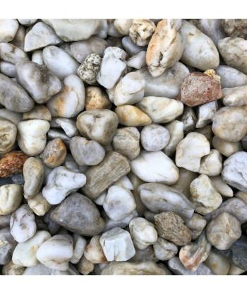 Kamień dekoracyjny - otoczak żwir perłowy BIOVITA 8-16mm 20kg