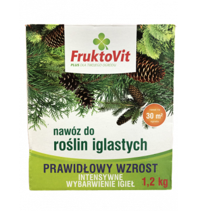 Nawóz FruktoVit do iglaków 1.2KG
