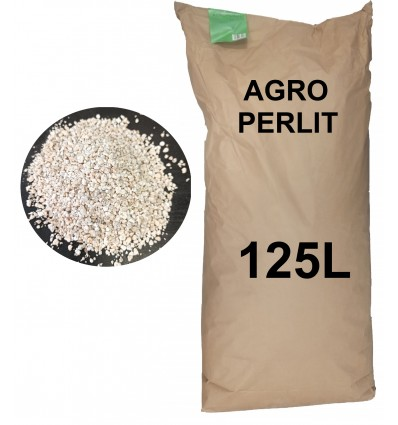 AGRO PERLIT ogrodniczy 125L (frakcja 3-6mm)