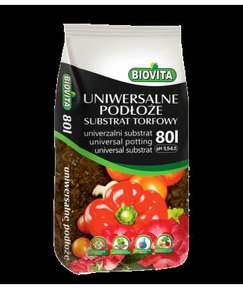 Substrat torfowy ziemia pH 5,5-6,5 BIOVITA 80L