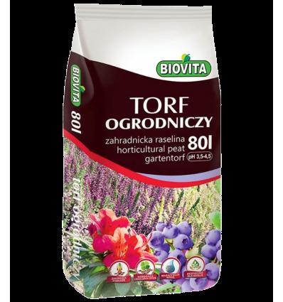 Torf ogrodniczy BIOVITA 80L