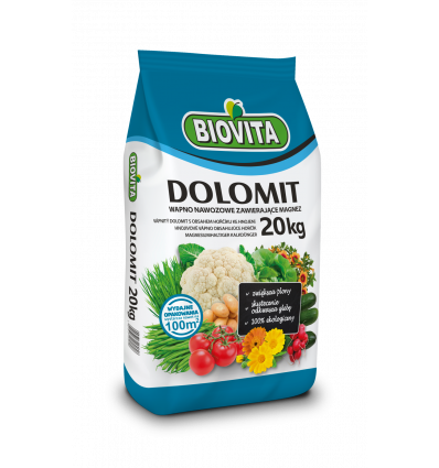 Nawóz wapniowo - magnezowy DOLOMIT 20kg