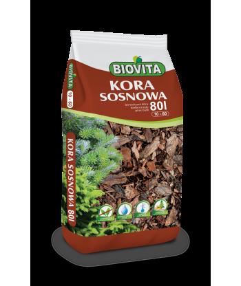 Kora mielona sosnowa BIOVITA 10-60 mm 80L