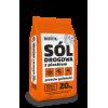 Sól drogowa z piaskiem przeciw gołoledzi BIOVITA 20 kg