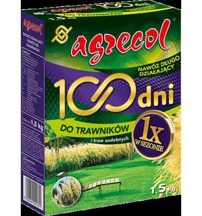 Nawóz 100 dni do trawników AGRECOL 1,5kg