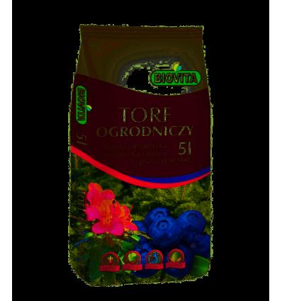 Torf ogrodniczy BIOVITA 5L