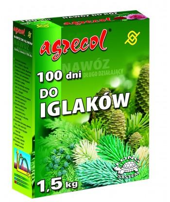 Nawóz do iglaków 100 dni Agrecol 1,5kg