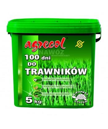 Nawóz do trawników 100 dni Agrecol 5kg