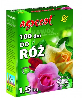 Nawóz do róż 100 dni AGRECOL 1,5kg