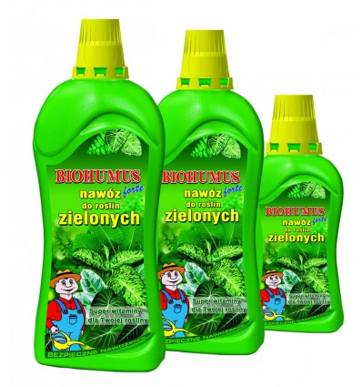 Nawóz BIOHUMUS FORTE Nawóz do roślin zielonych 0,35L