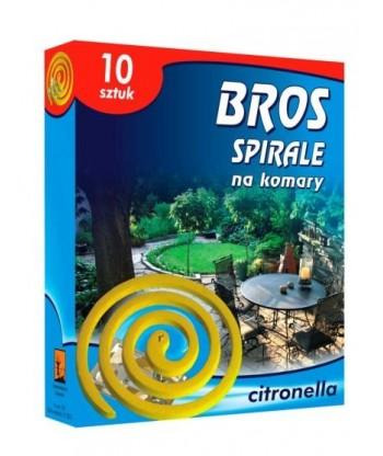 Spirala na komary CITRONELLA 10szt BROS
