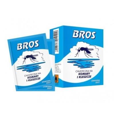 Chusteczka na komary i kleszcze 5szt BROS