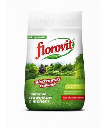 Nawóz do trawników FLOROVIT z żelazem (Fe) 5kg
