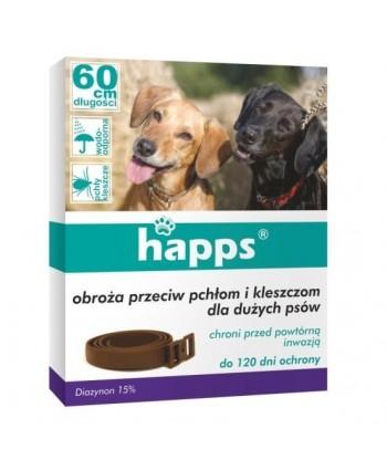 Obroża przeciw pchłom i kleszczom dla dużych psów BROS