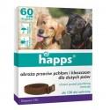 HAPPS Obroża przeciw pchłom i kleszczom dla dużych psów BROS