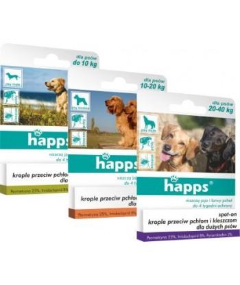 HAPPS krople dla dużych psów 20-40kg BROS