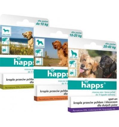 HAPPS krople dla średnich psów do 10-20kg BROS