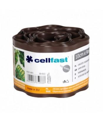 Obrzeże ogrodowe brąz 10cmx9m Cellfast