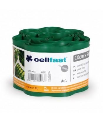 Obrzeże ogrodowe ciemna zieleń 10cmx9m Cellfast
