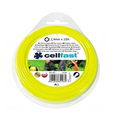 Ostrze tnące do wykaszarek ręcznych okrągłe 2,4 mm Cellfast