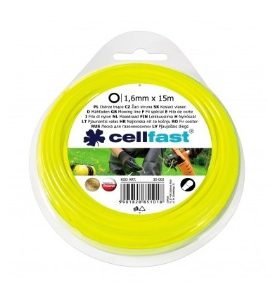 Ostrze tnące do wykaszarek ręcznych okrągłe 1,6 mm Celfast