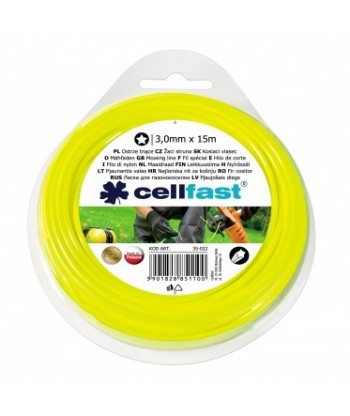Ostrze tnące do wykaszarek ręcznych gwiazdka 3,0 mm Celfast