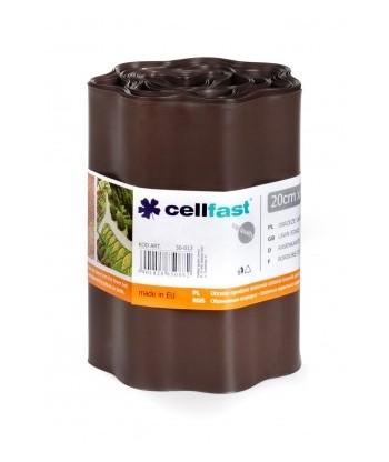 Obrzeże ogrodowe brąz 20cmx9m Cellfast