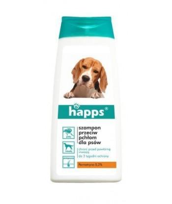 HAPPS SZAMPON przeciw pchłom dla psów 150ml BROS