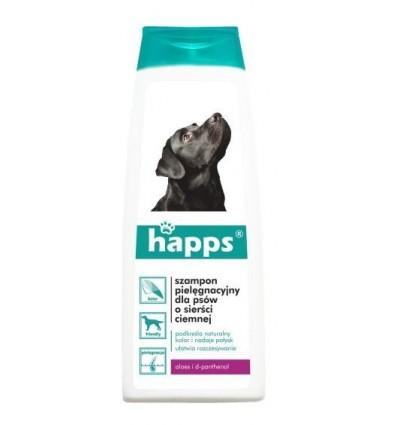 HAPPS SZAMPON pielęgnacyjny dla psów o sierści ciemnej 200ml BROS