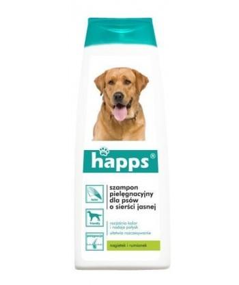 HAPPS SZAMPON pielęgnacyjny dla psów o sierści jasnej 200ml BROS