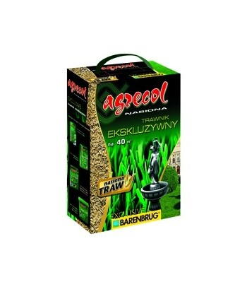 Nasiona traw EXCLUSIVE 1kg AGRECOL