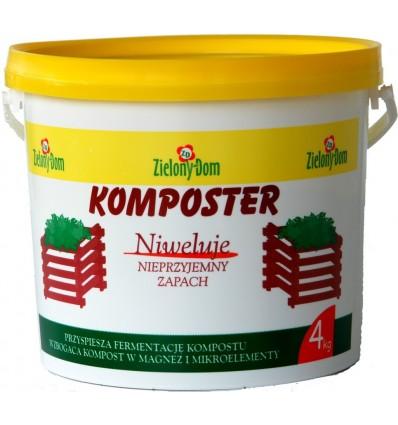 Komposter 4KG Zielony Dom