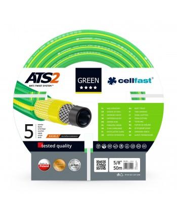 """Wąż ogrodowy Green ATS2 5/8"""" 50m Cellfast"""