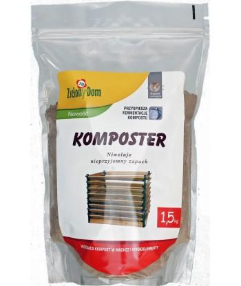 Komposter 1,5KG TORBA Zielony Dom