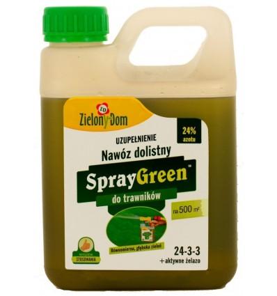 SprayGreen do trawnika 950ml UZUPEŁNIENIE Zielony Dom