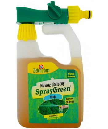 SprayGreen do thui 950ml Zielony Dom