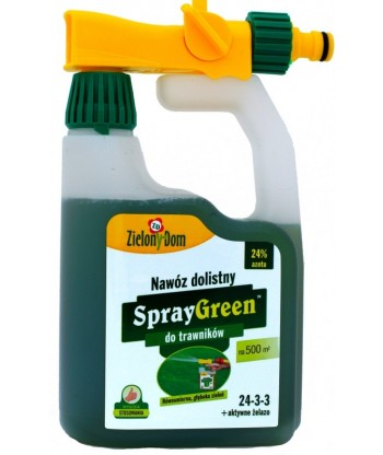 SprayGreen do trawnika 950ml Zielony Dom