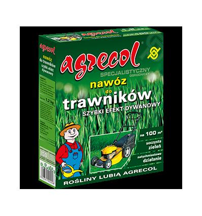 Nawóz do trawników – szybki efekt dywanowy 1,2kg Agrecol