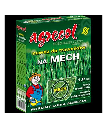 Nawóz do trawników na mech Agrecol 1,2kg