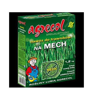 Nawóz do trawników na mech 1,2kg Agrecol