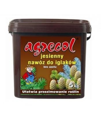Nawóz jesienny do iglaków 5kg Agrecol