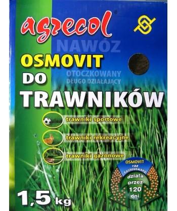 Nawóz Osmovit - dwufazowy do trawników Agrecol 1,5 kg