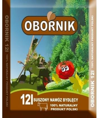 Obornik - suszony naturalny nawóz bydlęcy 12L BIOVITA