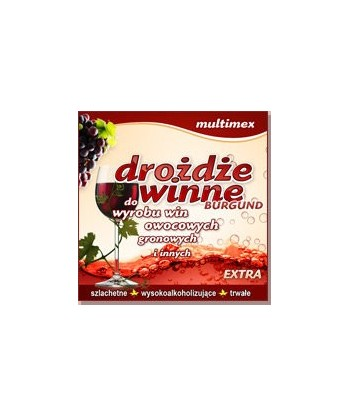 Drożdże winne BURGUND EXTRA Multimex