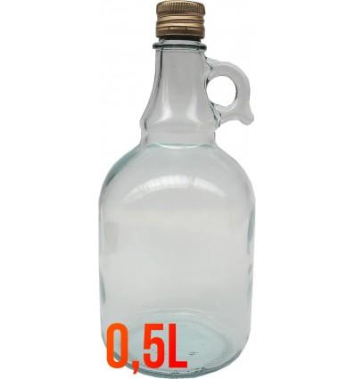 Galon/butelka 0,5L+zakrętka