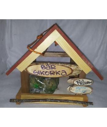 "Karmnik dla ptaków ""Bar sikorka"" nr 4 Pinokio"
